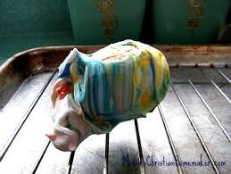Decorating Easter Eggs With Shaving Cream by Tie Dyed Easter Eggs Modern Christian Homemaker