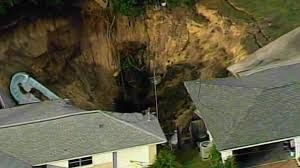 Sinkholes In Florida Map by Massive Florida Sinkhole Swallows Boat And Swimming Pool