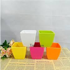 Square Planter Pots by Wholesale Creative Small Square Flower Pots Plant Plastic Nursery