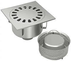 siphon cuisine inox siphon de sol en acier inox rond carré pour cuisine p 016