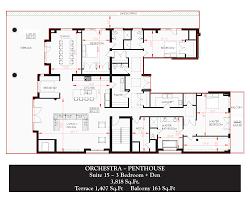 orchestra floor plan floor plans romance residences of distinction