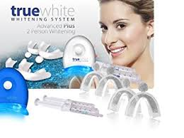 how to use teeth whitening gel with light amazon com premium truewhite advanced teeth whitening gel system