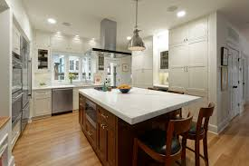 Bungalow Kitchen Design Stylish First Floor Bungalow Renovation In Arlington Va Bowa
