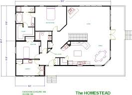 Sq Ft Barn House Willow Creek Homes   Square Feet - Rambler home designs