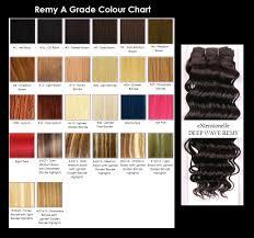 weave hair colour chart hair weaving