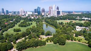 Map Of Atlanta Area by Maps Piedmont Park Conservancy Inc