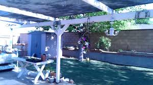Low Budget Backyard Makeover Part I Low Budget Patio Backyard Makeover Before Youtube