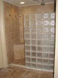 bathroom bathroom room decor glass block wall decorating cabinet