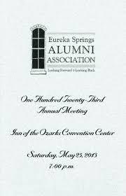 Alumni Meet Invitation Card 2013 Alumni Meeting Program
