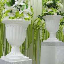 Cheap Plastic Flower Vases Aliexpress Com Buy Wedding Road Cited Flower Pot Fashion Plastic