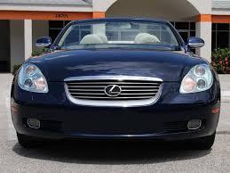 lexus sc430 cars for sale 2005 lexus sc 430 for sale in bonita springs fl stock 065250 16