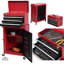 Tool Cabinet With Wheels Mechanics Tool Chest Mobile On Wheels Rolling Roller Portable