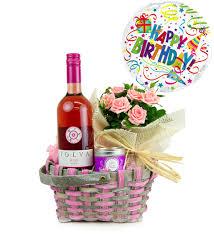 birthday basket happy birthday basket plants 29 99 free chocolates prestige