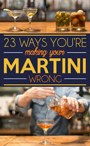 here u0027s everything you need to know about martinis