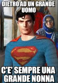 Super Man Meme - dietro ad un grande uomo superman meme on memegen