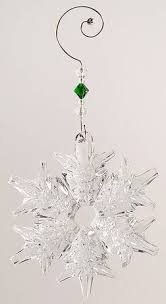 waterford snow crystals annual ornament at replacements ltd