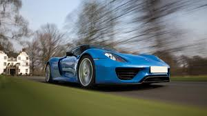 Porsche 918 Blue - arrow blue porsche 918 spyder weissach heads to auction
