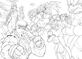 hd wallpapers street fighter coloring page zsa byca info