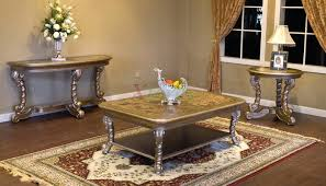 living room table sets ashley 3pc dark cappuccino coffee table set
