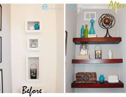 remodelando la casa diy floating shelves