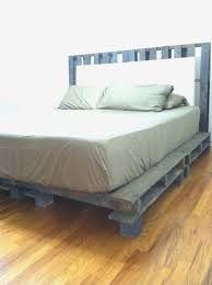 Pallet Platform Bed Platform Bed Out Of Pallets With Regard To Invigorate