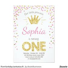 invitation princess birthday party princess invitations girls