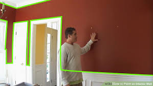 How To Paint Interior Windows How To Paint An Interior Wall 13 Steps With Pictures Wikihow