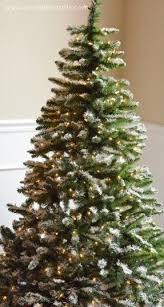 lightly flocked christmas tree lightly flocked christmas trees lightly flocked artificial christmas