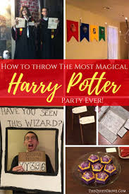Harry Potter Halloween Party Ideas by 454 Best Birthday Party Ideas Images On Pinterest Birthday Party