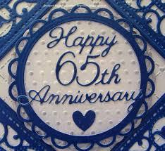 65 wedding anniversary tinyrose s craft room 65th wedding anniversary card