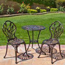 patio furniture charming cast aluminium patio set part keysindy