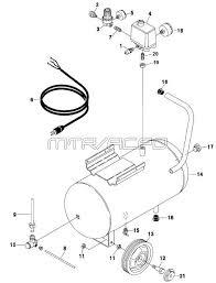 p0200608 coleman powermate air compressor parts