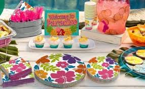 Tropical Theme Birthday Cake - tropical themed party supplies u0026 decorations