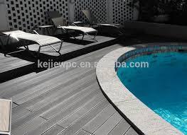 easy installation wpc outdoor decking floor sanded wood grain