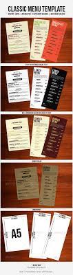 customizable menu templates best 25 menu templates ideas on food menu template