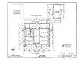 antebellum house plans 1st floor d evereux natchez mississippi 1836