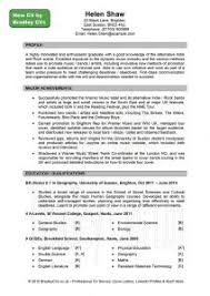 Examples Of A Resume Profile by Examples Of Resumes 81 Cool Resume Sample Format For 4 Years