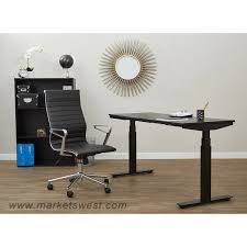 Adjustable Height Standing Desk by Ascend Pneumatic Adjustable Height Table Desk With 24