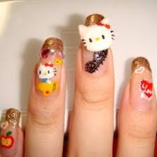 acrylic nails japanese nail art the way to fashionable go