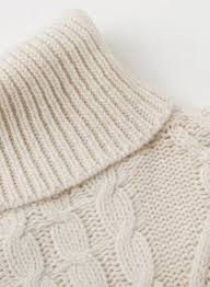 cable knit sweater womens s solid turtleneck sleeve side slit cable knit sweater