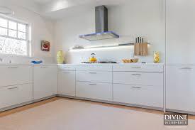 white metal kitchen cabinets boston scituate seaside contemporary leicht kitchen