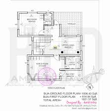100 kerala home design first floor plan november 2014