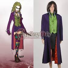 Harley Quinn Halloween Costume Size Batman Dark Knight Joker Harley Quinn Women U0027s Halloween