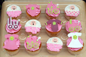 baby shower cake ideas for girl cupcake ideas for baby girl shower baby shower cupcakes 0006