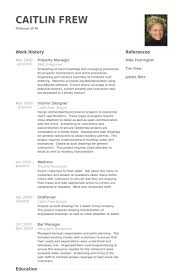 Sample Resume For Musician by Property Manager Resume Samples Visualcv Resume Samples Database