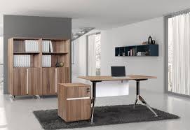 Unique Office Desk by Unique Furniture 300 Collection Walnut Desk 300 Unique Desks