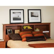 edenvale full queen storage headboard cherry walmart com
