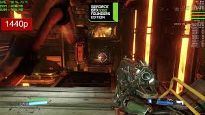 video bench mark doom gtx 1060 frame rate benchmark performance ultra graphics