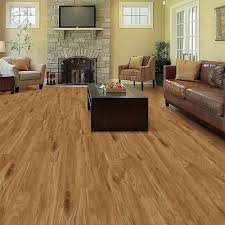 Trafficmaster Laminate Flooring 1230 Trafficmaster Allure 6 In X 36 In Chatham Oak Resilient