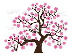 unique japanese cherry blossom tree clipart photos free vector